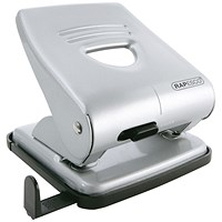 Rapesco 827 Hole Punch Capacity 30 Sheets Silver
