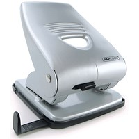 Rapesco 835 Hole Punch Capacity 40 Sheets Silver