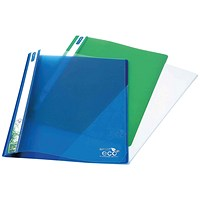 Rapesco Eco PP Report File A4 Asorted (Pack of 10)