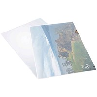 Rapesco Eco Cut Flush Folders / A4 / Pack of 100
