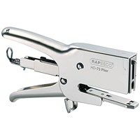 Rapesco HD-73 Heavy Duty Plier Capacity 20 Sheets Silver