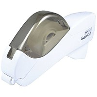 Rapesco SupaCut Tape Dispenser with x2 Rolls Tape White