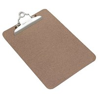 Rapesco Hardboard Clipboard Hanging Hole A5
