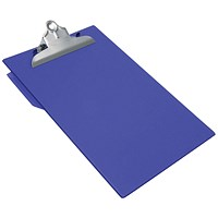 Rapesco Heavy Duty Clipboard Foolscap Blue