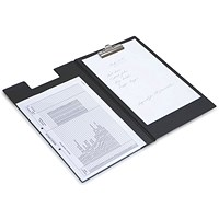 Rapesco Executive Clipboard Foolscap Black