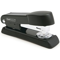 Rapesco Minno Half Strip Stapler Capacity 50 Sheets Black