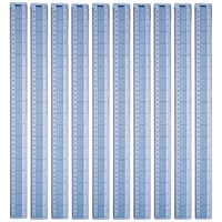 Helix Shatter Resistant Ruler Gridded 45cm Blue (Pack of 10)