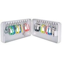 Helix Standard Key Cabinet 20 Key Capacity (Includes 10 key fobs, label kit and index sheets) 520210