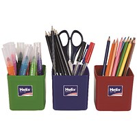 Helix Pencil Pots Assorted (Pack of 12)