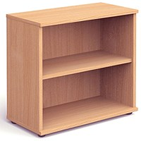 Impulse Low Bookcase - Beech
