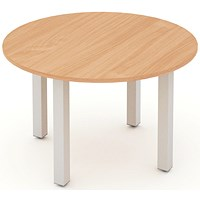 Impulse Circular Table, 1200mm Diameter, Beech