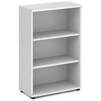 Impulse Medium Bookcase - White