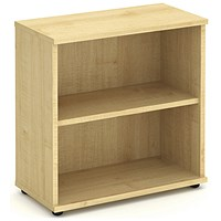 Impulse Low Bookcase - Maple