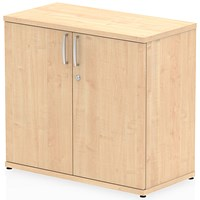 Impulse Desk High Cupboard - Maple