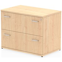 Impulse 2-Drawer Side Filer - Maple