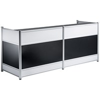 Impulse Reception Desk - High Gloss Black