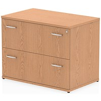 Impulse 2-Drawer Side Filer - Oak