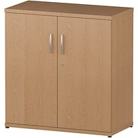 Impulse Low Cupboard - Oak