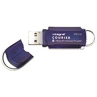 Integral Courier Encrypted USB 3.0 64GB Flash Drive