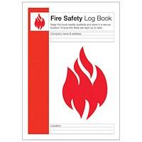 Fire Safety Log Record Book (Aides compliance with fire safety standards) IVGSFLB