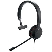 Jabra Evolve 20 UC Mono PC Headset 52646