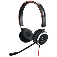 Jabra Evolve 40 UC Duo PC Headset 52655