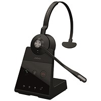 Jabra Engage 65 Mono Headset Black (Up to 13 hours talk time) 9553-553-117