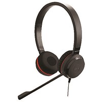 Jabra Evolve 20 SE MS Stereo Binaural Headset (Noise cancelling microphone) 499-823-309