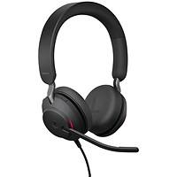 Jabra Evolve2 40 USB-C MS Stereo Headset 706487020035