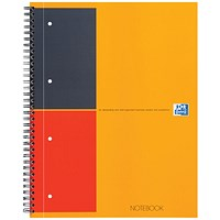 Oxford International Classic Notebook, A4+, Ruled & Perforated, 160 Pages