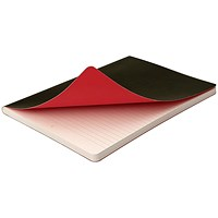 Black n' Red Soft Cover A6 Journal