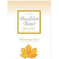 Basildon Bond Writing Pad 137 x 178mm Champagne (Pack of 10)