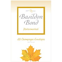 Basildon Bond Champagne Envelope 95 x 143mm (Pack of 200)