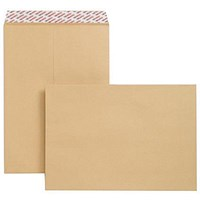 New Guardian Heavyweight C3 Pocket Envelopes, Manilla, Peel & Seal, 130gsm, Pack of 125