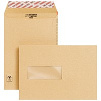 New Guardian C5 Envelope Window Peel/Seal Manilla (Pack of 250)