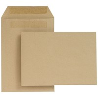 New Guardian C5 Pocket Envelope Self Seal Manilla (Pack of 500)
