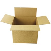 Single Wall Corrugated Dispatch Cartons 305x254x254mm Brown (Pack of 25) SC-11