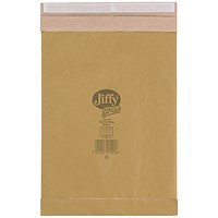 Jiffy Padded Bag Size 5 245x381mm Gld PB-5 (Pack of 10) JPB-AMP-5-10