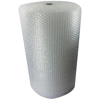 Jiffy Bubble Film Roll 1200mmx45m Large Cell Clear BROE33080