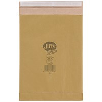 Jiffy No.5 Padded Bag Envelopes, 245x381mm, Brown, Pack of 100