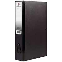 Concord Box File Foolscap Black (Pack of 5)