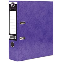 Concord IXL 70mm Selecta Lever Arch File A4 Purple (Pack of 10)