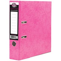 Concord A4 IXL Lever Arch Files, Pink, Pack of 10