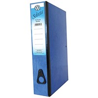 Concord IXL Box File, 80mm Spine, Foolscap, Blue, Pack of 10