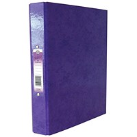 Concord IXL A4 Purple Ring Binder (Pack of 10)