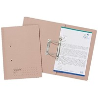 Guildhall Transfer Files, 285gsm, Foolscap, Buff, Pack of 25