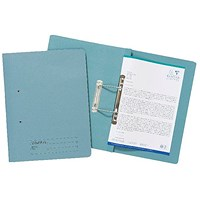 Guildhall Transfer Files, 285gsm, Foolscap, Blue, Pack of 25