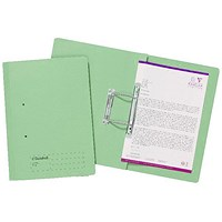 Guildhall Transfer Files, 285gsm, Foolscap, Green, Pack of 25
