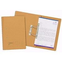 Guildhall Transfer Files, 285gsm, Foolscap, Orange, Pack of 25