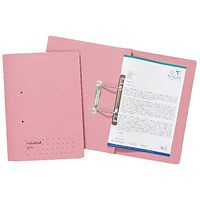 Guildhall Transfer Files, 285gsm, Foolscap, Pink, Pack of 25